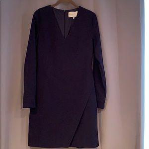 NWOT navy long sleeved dress